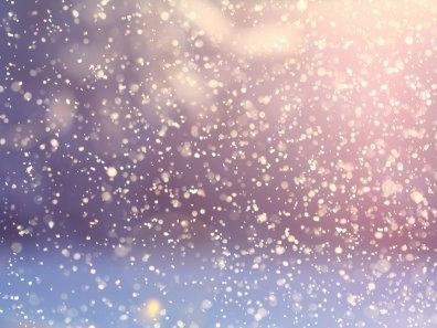 Un poème qui tombe des nuages en flocons blancs...