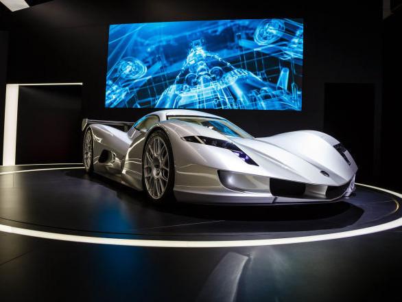 Ce bolide promet d'être la voiture électrique de série la plus puissante au monde – photos