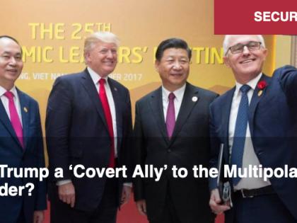 Trump est-il un « allié secret » de l'ordre multipolaire ? Par Alastair Crooke