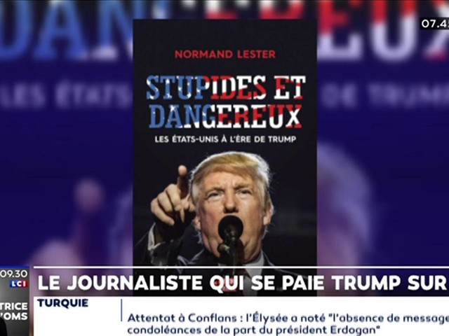 Le journaliste Normand Lester se paie Trump