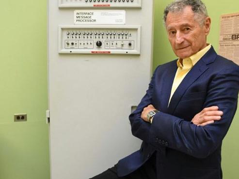 """Leonard Kleinrock créait internet il y a juste 50 ans: """"En tant qu'ingénieurs nous ne pensions pas aux comportements malveillants"""""""