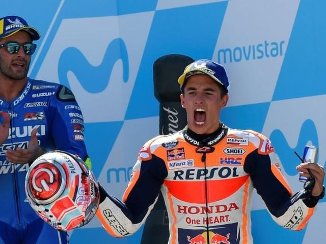 MotoGP: Marquez gagne le GP d'Aragon et accroît son avance au Championnat
