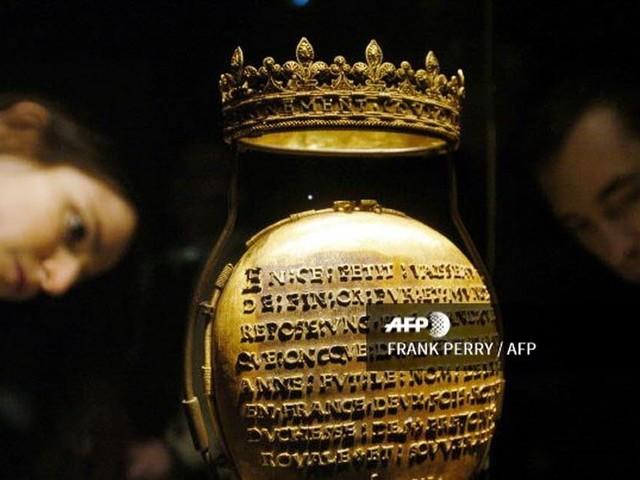 Le reliquaire d'Anne de Bretagne retrouvé, deux hommes mis en examen