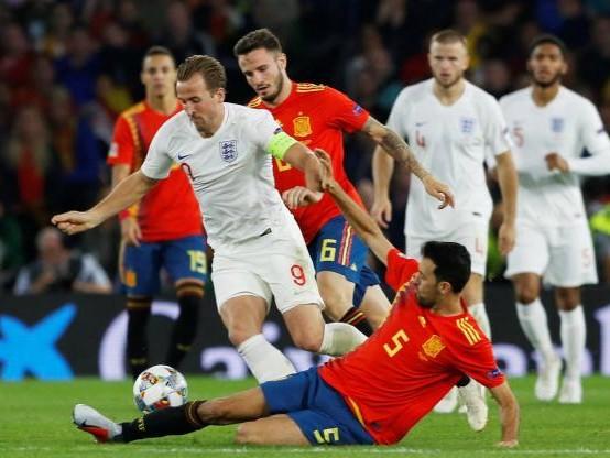 Foot - L. nations - Les incroyables chiffres de la victoire de l'Angleterre en Espagne