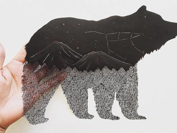 Delicate Papercut Creations