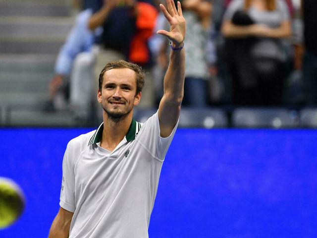 US Open: Medvedev avance au quart de tour