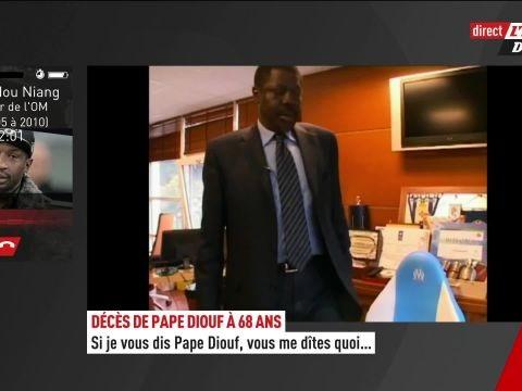Foot - Disparition - Mamadou Niang (ex-OM) : «Pape Diouf était plus qu'un président»
