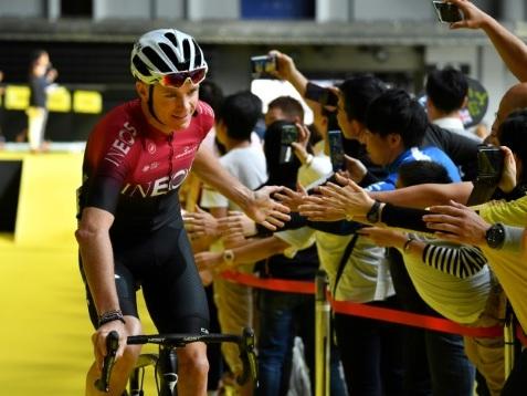 Critérium de Saitama: Froome remis en selle dans un contre-la-montre par équipes