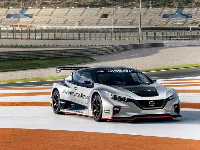 Les photos Nissan LEAF Nismo RC, une sportive électrique de plus de 300 chevaux