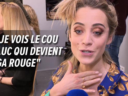 """Dans la pièce du Télévie, Emilie Dupuis DÉTESTE mettre des claques à Luc Gilson: """"Je ne sais pas du tout contrôler ma force"""" (vidéo)"""