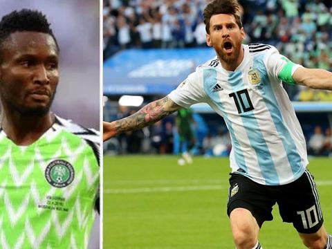Mondial 2018: le Nigeria frôle l'exploit face à l'Argentine de Messi !
