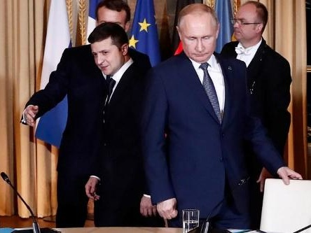 Conflit en Ukraine: Poutine satisfait de sa rencontre avec Zelensky