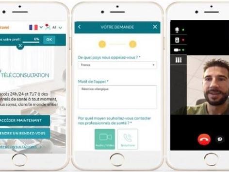 Allianz propose la téléconsultation médicale aux voyageurs