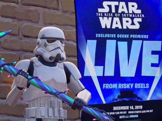 Star Wars : Le drive-in de Fortnite diffusera une scène de l'épisode 9 en avant-première