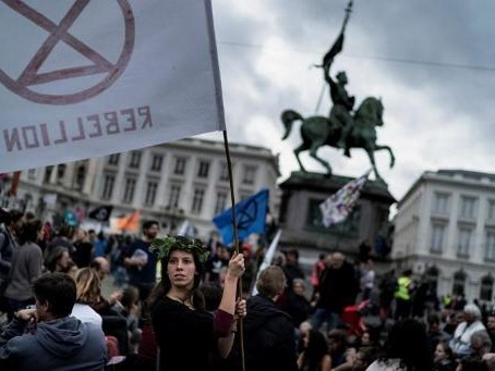 Extinction Rebellion veut intenter une action civile contre la Ville de Bruxelles