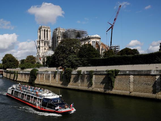 Les dons des mécènes pour la reconstruction de Notre-Dame de Paris se concrétisent