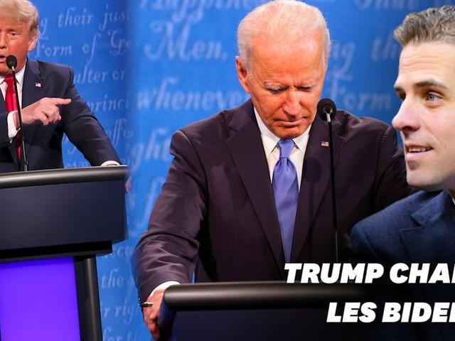 Au débat, Donald Trump attaque Joe Biden sur les affaires de son fils Hunter