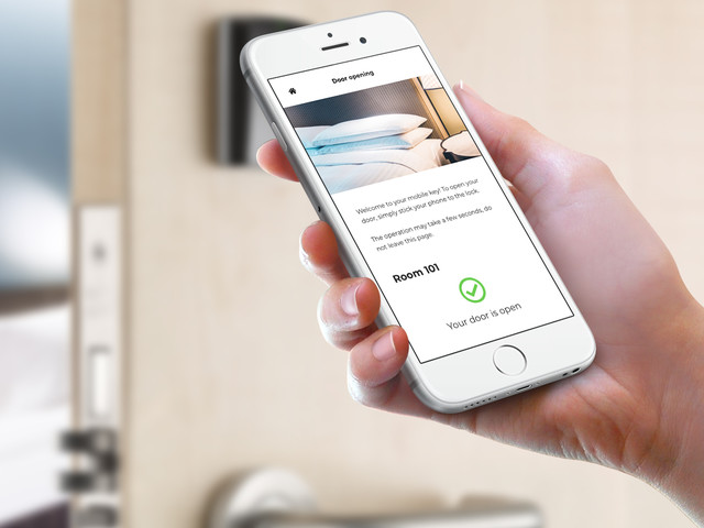 Hôtellerie : LoungeUp lance une clé sur mobile