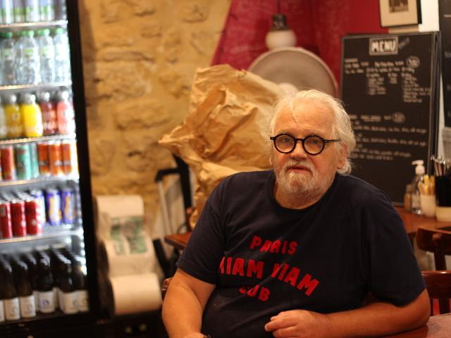 PORTRAIT. Alain Miam Miam, des sandwichs XXL et du caractère au cœur de Paris