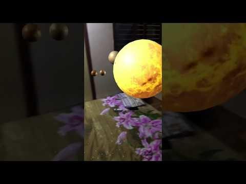Après la lune, le système solaire tient dans la maison et l'iPhone grâce à ARKit iOS 11 (vidéo)