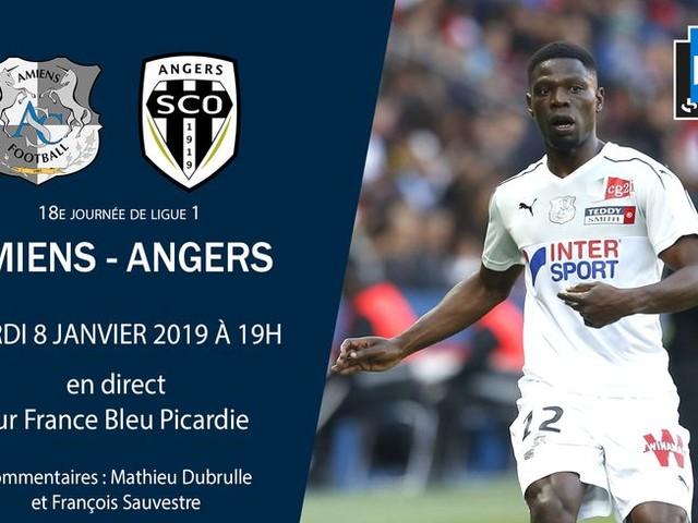 Ligue 1 - Direct : suivez le match de la dix-huitième journée entre Amiens et Angers