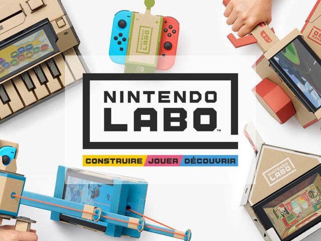 Nintendo Labo : la Switch se dote de nouveaux accessoires... en carton