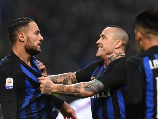 Foot - ITA - L'Inter Milan bat la Sampdoria et reste troisième de Serie A