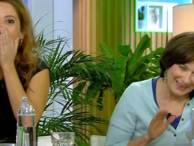 Léa Salamé hilare face au lapsus d'Ali Baddou sur Laurence Rossignol (VIDEO)