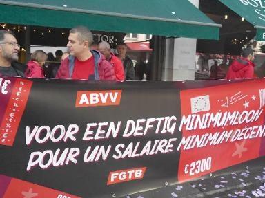 Manifestation de la FGTB: la FEB demande à exécuter l'AIP