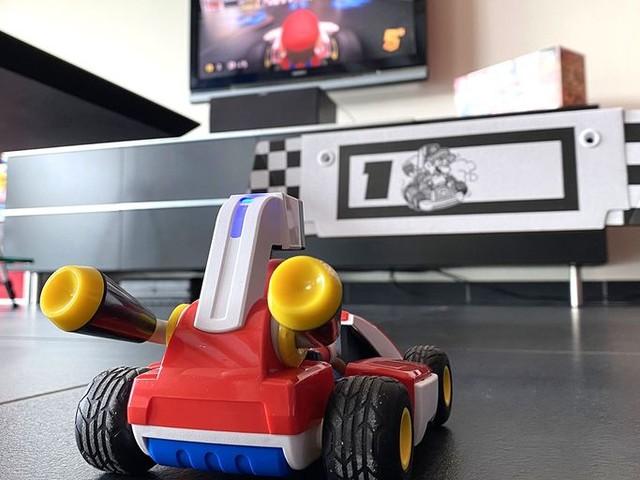 Test Mario Kart Live Home Circuit : le salon devient circuit grâce à la réalité augmentée