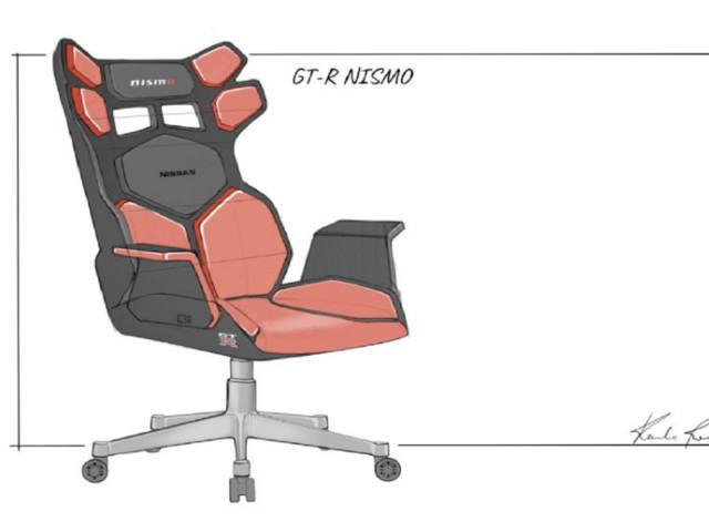 Quand Nissan s'essaie à la conception de sièges spéciaux pour l'eSport