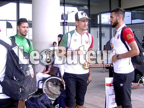 MCA : Le Mouloudia est arrivé hier à 14h15 à Alger