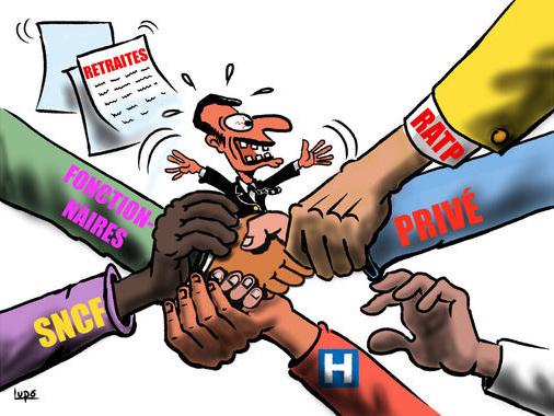 Editorial des bulletins d'entreprise - Le 5 décembre, tous en grève et en manifestation !