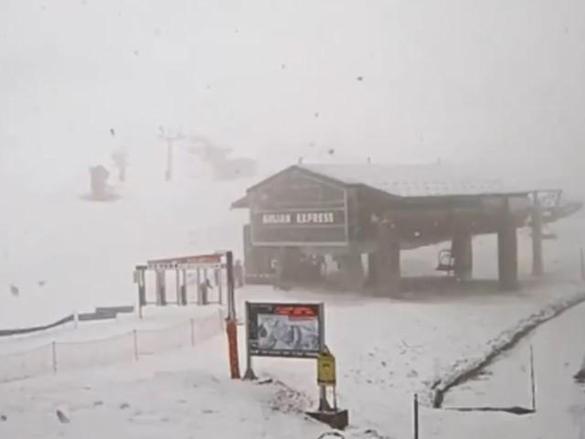 Météo. Les images des chutes de neige dans de nombreuses stations de ski des Pyrénées
