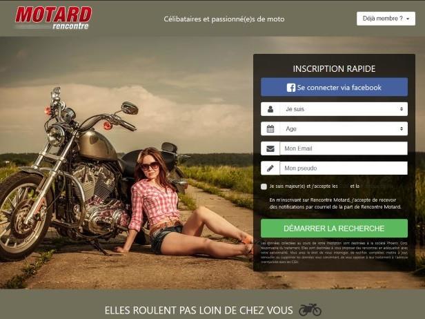 RencontreMotard.com – Avis & Présentation