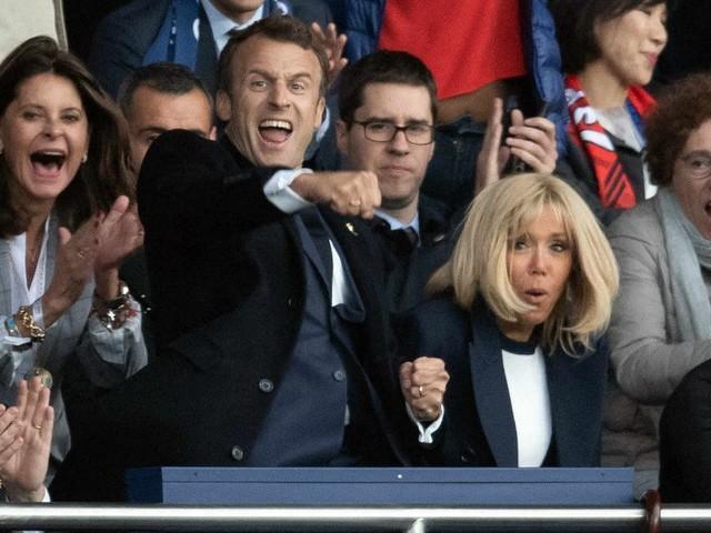 Emmanuel Macron : La folle joie du président devant la victoire des Bleues en Coupe du monde !