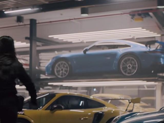 La nouvelle 911 GT3 aperçue en primeur dans une publicité du Super Bowl