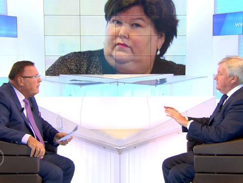"""Les francophones ne sont pas la priorité de Maggie De Block, selon Marcourt: """"Toute sa politique de santé est fondée sur la Flandre"""""""