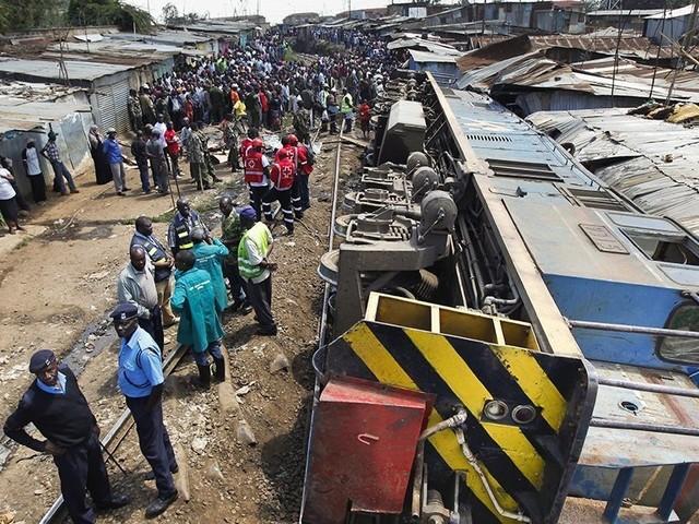 Au moins 24 morts dans le déraillement d'un train en République démocratique du Congo
