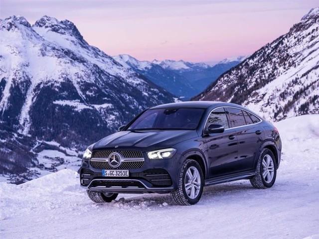 Mercedes GLE Coupé : un hybride diesel avec 100 km d'autonomie
