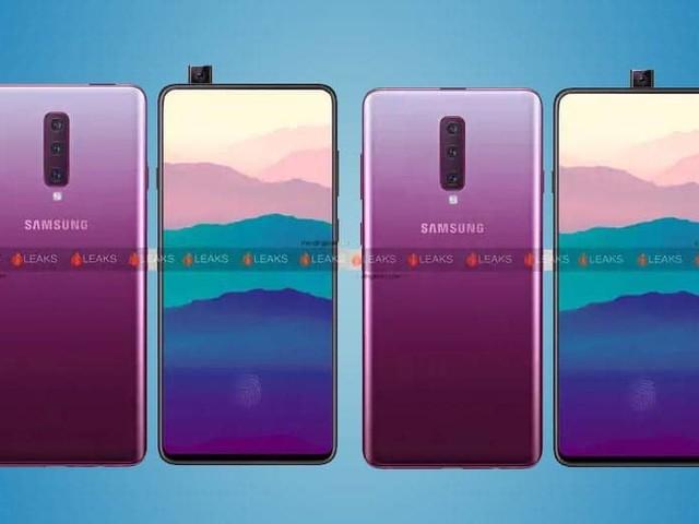 Galaxy A90 : lancement le 10 avril 2019, l'écran borderless sans trou ni encoche se confirme