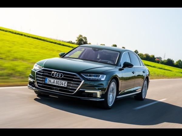 Audi A8 L (2019) : voici l'hybride rechargeable