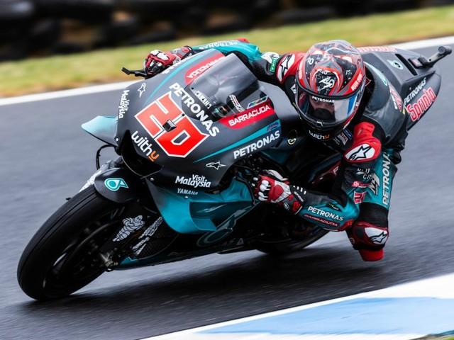 GP Valence-Libres MotoGP: Quartararo encore devant