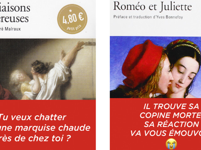 Top 24 des classiques de la littérature s'ils avaient des titres putaclics (et clairement ça se vendrait plus)