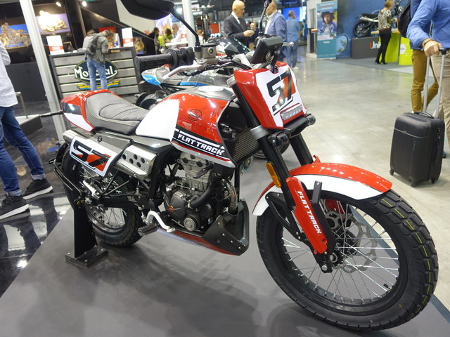 FB Mondial Flat Track 125 : racing spirit | Salon Milan 2019