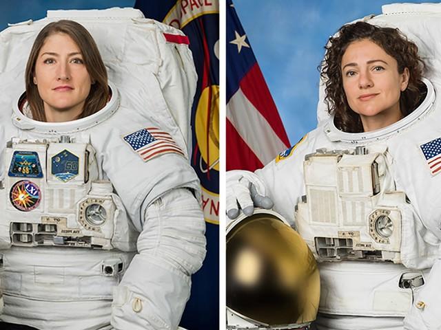 Suivez en direct la première sortie historique de deux femmes dans l'espace