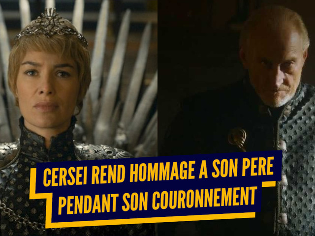 Top 9 des messages qui étaient cachés dans les costumes de Game of Thrones
