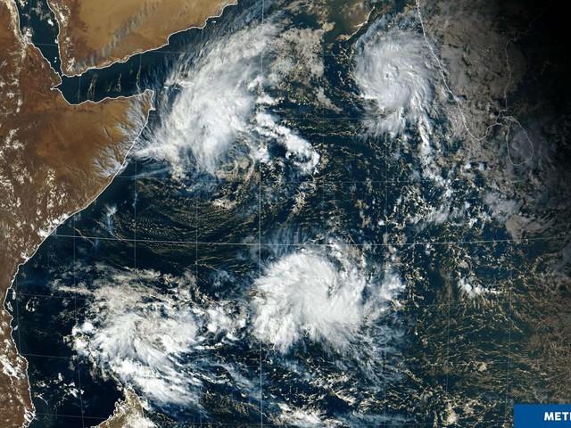Cyclones : quatre grandes dépressions se sont formées au-dessus de l'océan Indien