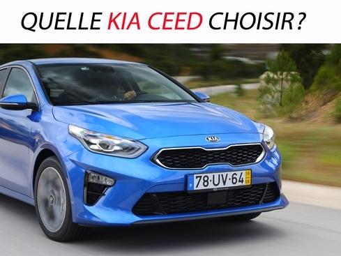 Quelle Kia Ceed choisir?