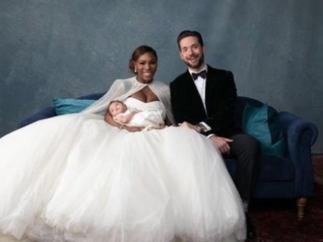Serena Williams est une femme mariée!